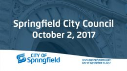 City Council Meeting – October 2, 2017