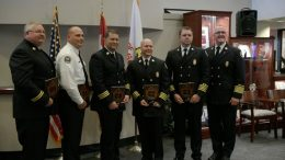 Springfield Fire Department Promotion Ceremony