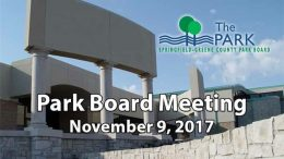 Park Board Meeting – November 9, 2017