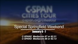 C-SPAN Cities Tour features Springfield