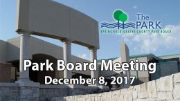 Park Board Meeting – December 8, 2017