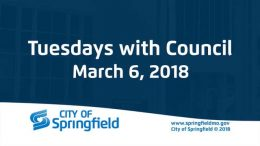 Tuesdays with Council – Special Council Meeting – March 6, 2018