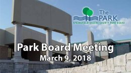 Park Board Meeting – March 9, 2018