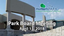 Park Board Meeting – April 13, 2018