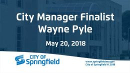 City Manager Finalist Wayne Pyle