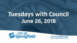Tuesdays with Council – June 26, 2018