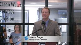 Jason Gage, City Manager Swearing-in Ceremony