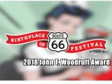 2018 John T. Woodruff Award presented to Mother's Brewing Company owner Jeff Schrag