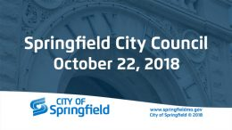 City Council Meeting – October 22, 2018