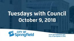 Tuesdays with Council – October 9, 2018