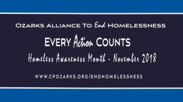 Ozarks Alliance To End Homelessness Press Conference