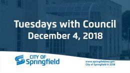 Tuesdays with Council – December 4, 2018