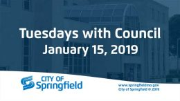 Tuesdays with Council – January 15, 2019