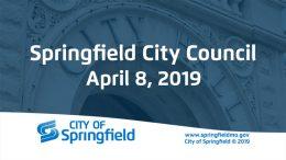 City Council Meeting – April 8, 2019