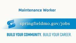 Jobs Update – Maintenance Worker