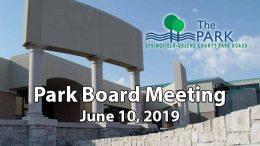 Park Board Meeting – June 14, 2019