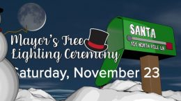 Mayor's Tree Lighting Ceremony – Festival of Lights Kickoff Event