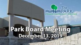 Park Board Meeting – December 13, 2019