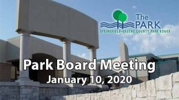 Park Board Meeting – January 10, 2020