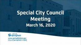 Special City Council – March 16, 2020