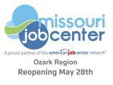 Missouri Job Center May 28th Reopening