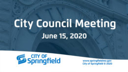 City Council Meeting – June 15, 2020