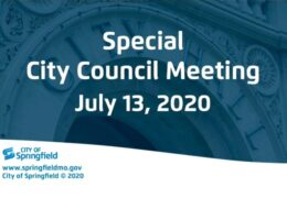 Special City Council Meeting – July 13, 2020