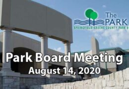 Park Board Meeting – August 14, 2020