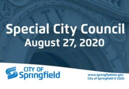 Special City Council Meeting – August 27, 2020