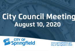City Council Meeting – August 10, 2020
