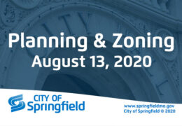 Planning & Zoning Meeting – August 13, 2020