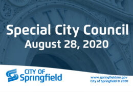 Special City Council Meeting – August 28, 2020