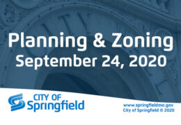 Planning & Zoning Meeting – September 24, 2020