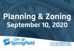 Planning & Zoning Meeting – September 10, 2020
