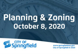 Planning & Zoning Meeting – October 8, 2020
