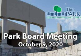 Park Board Meeting – October 9, 2020