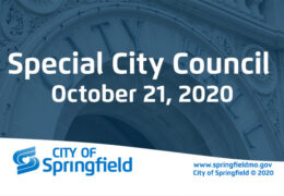 Special City Council Meeting – October 21, 2020