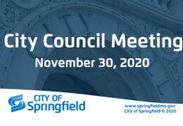 City Council Meeting – November 30, 2020