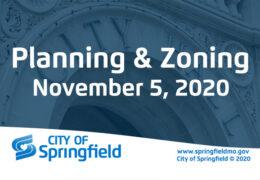 Planning & Zoning Meeting – November 5, 2020
