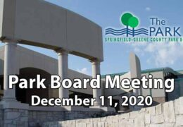 Park Board Meeting – December 11, 2020