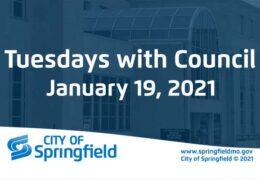Tuesdays with Council – January 19, 2021