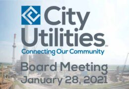 City Utilities Board Meeting – January 28, 2021