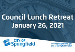 City Council Lunch Retreat – January 26, 2021