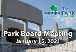Park Board Meeting – January 15, 2021