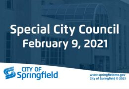 Special City Council Meeting – February 9, 2021