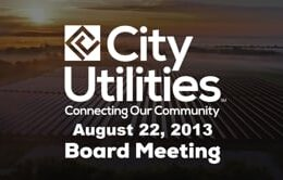 City Utilities Board – August 22, 2013