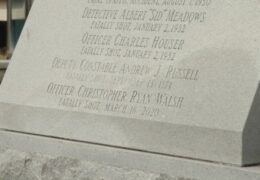 Chris Walsh Monument Engraving | March 16, 2021