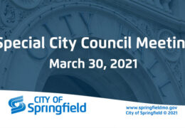 Special City Council Meeting – March 30, 2021