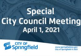 Special City Council Meeting- April 1, 2021