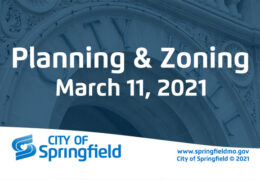 Planning & Zoning Meeting – March 11, 2021